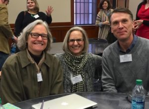 Pic of Belmont faculty at Peck Series.